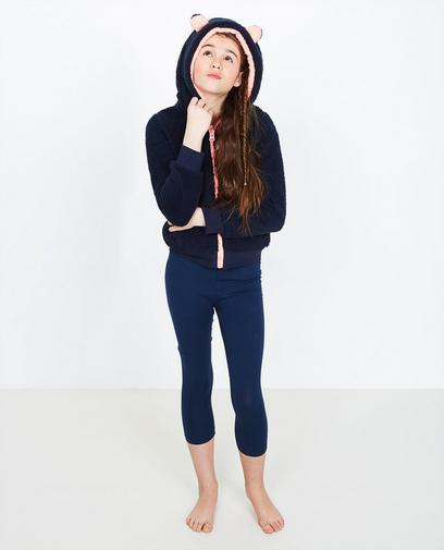 Marineblauwe legging
